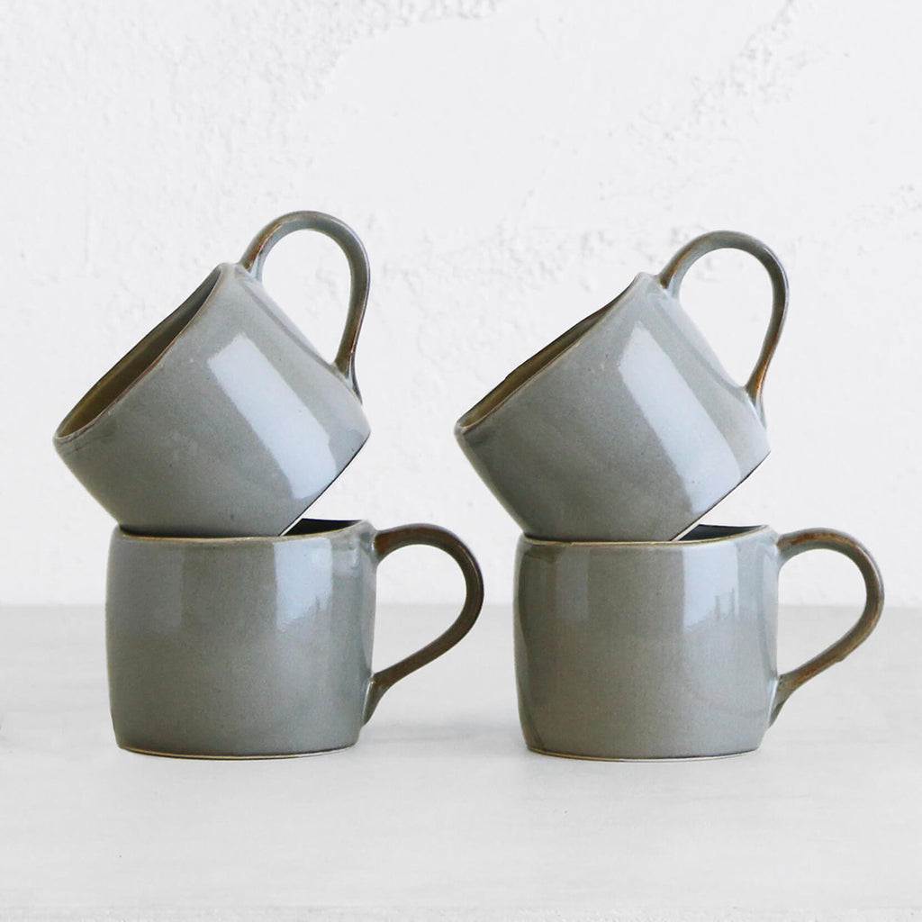 ROBERT GORDON ORGANIC MUG  |  SALTBUSH  |  SET OF 4
