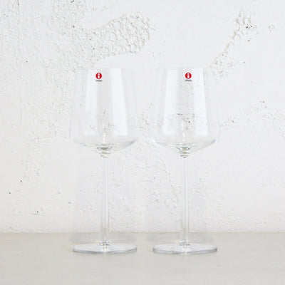 IITTALA  |  ESSENCE RED WINE GLASSES  |  SET OF 2