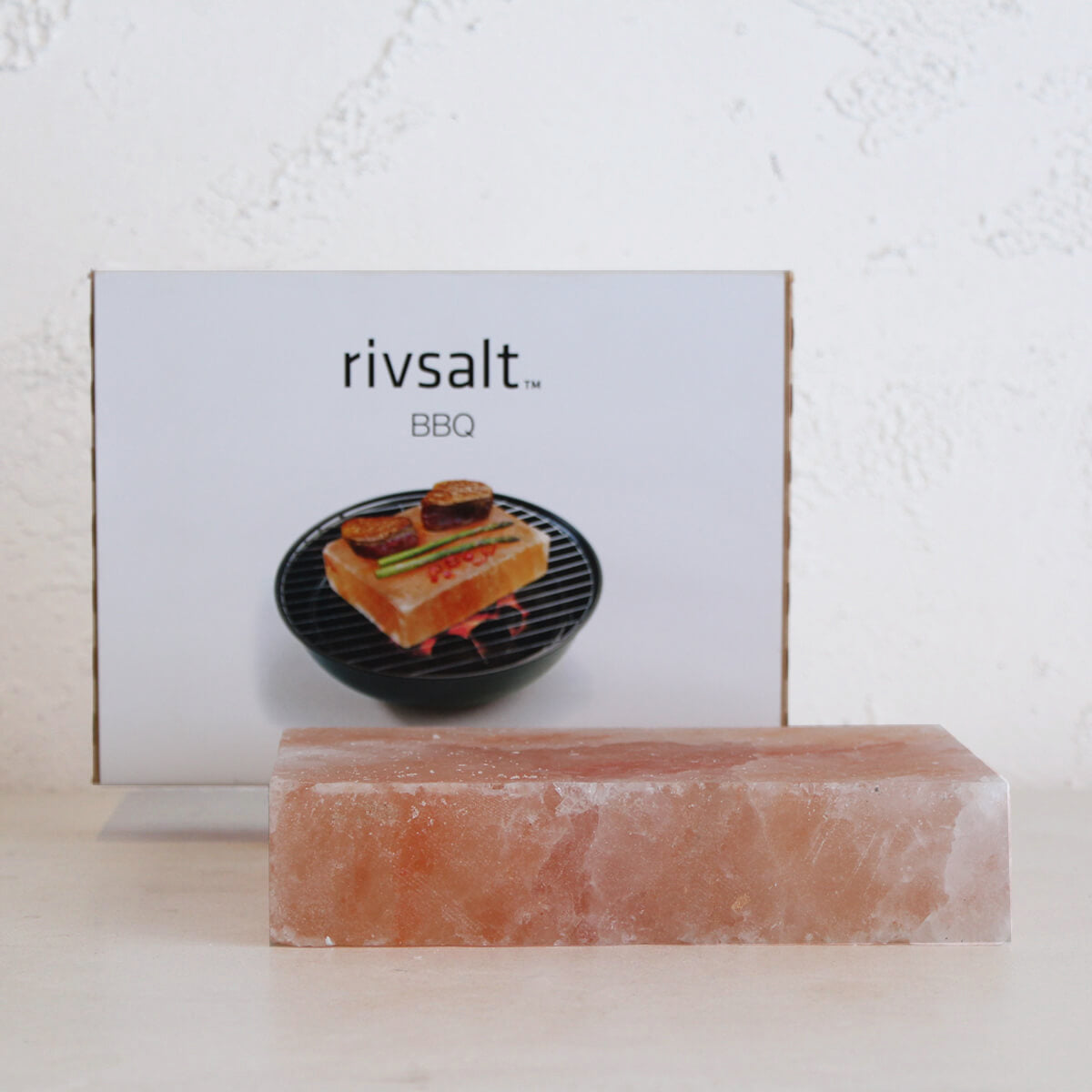 BBQ BY RIVSALT  |  HIMALAYAN SALT BLOCK