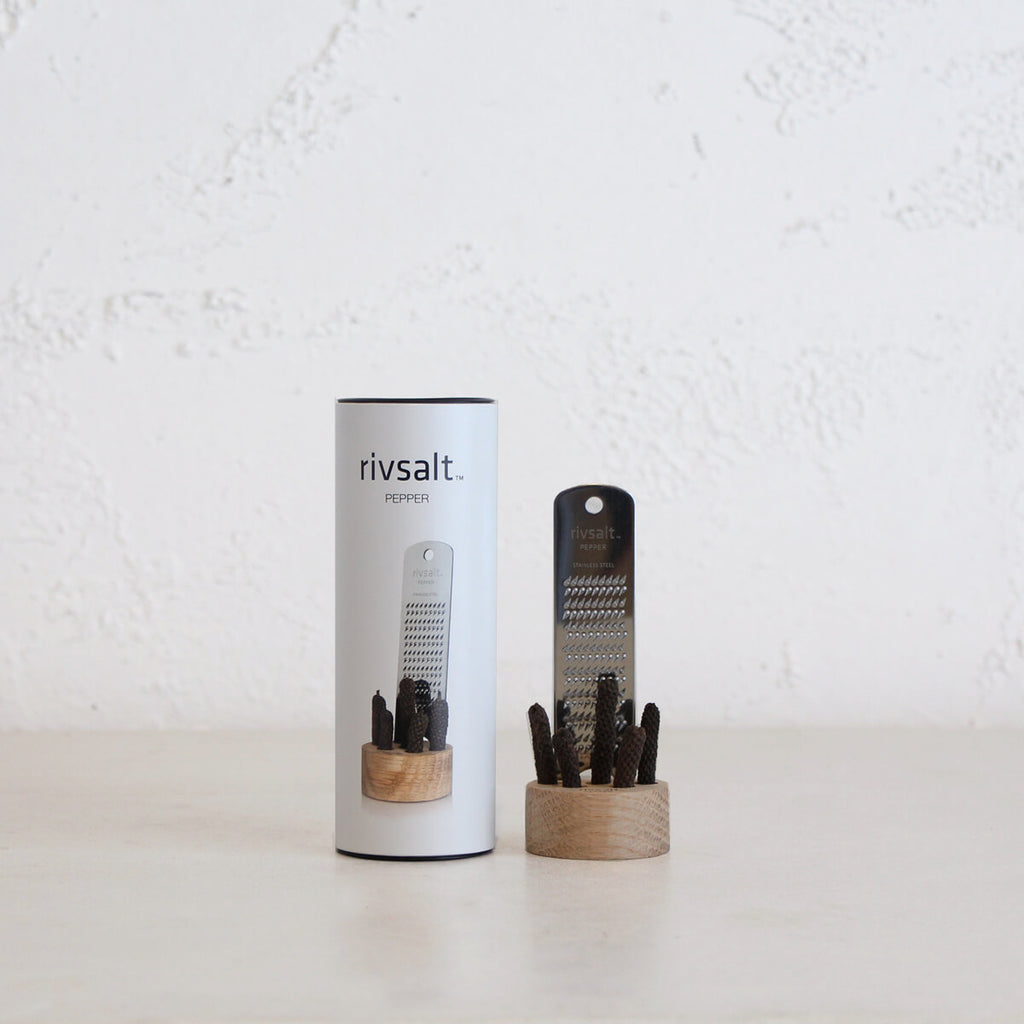 RIVSALT PEPPER ORIGINAL  |  PEPPER + GRATER