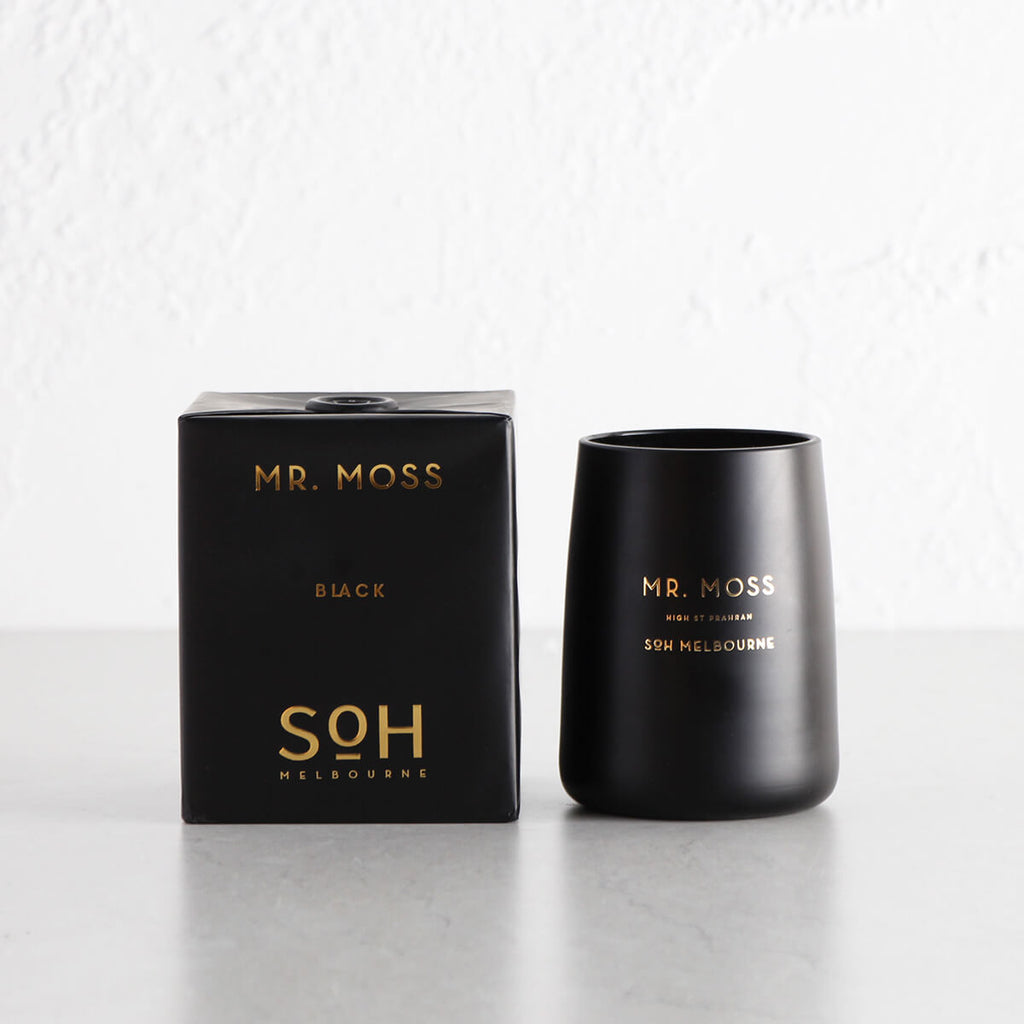 SOH MELBOURNE  |  SOY WAX CANDLE  |   MR MOSS