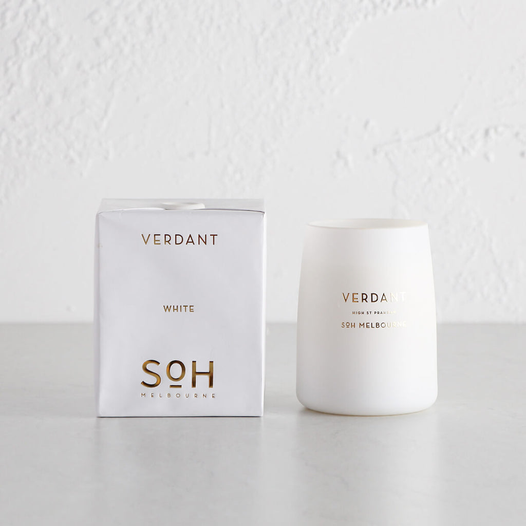 SOH MELBOURNE  |  SOY WAX CANDLE  |  VERDANT WHITE