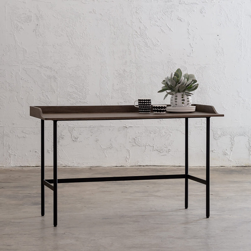 SAUVAGE LONDA OFFICE DESK  |  GREY WASH TIMBER  |  WRITING DESK