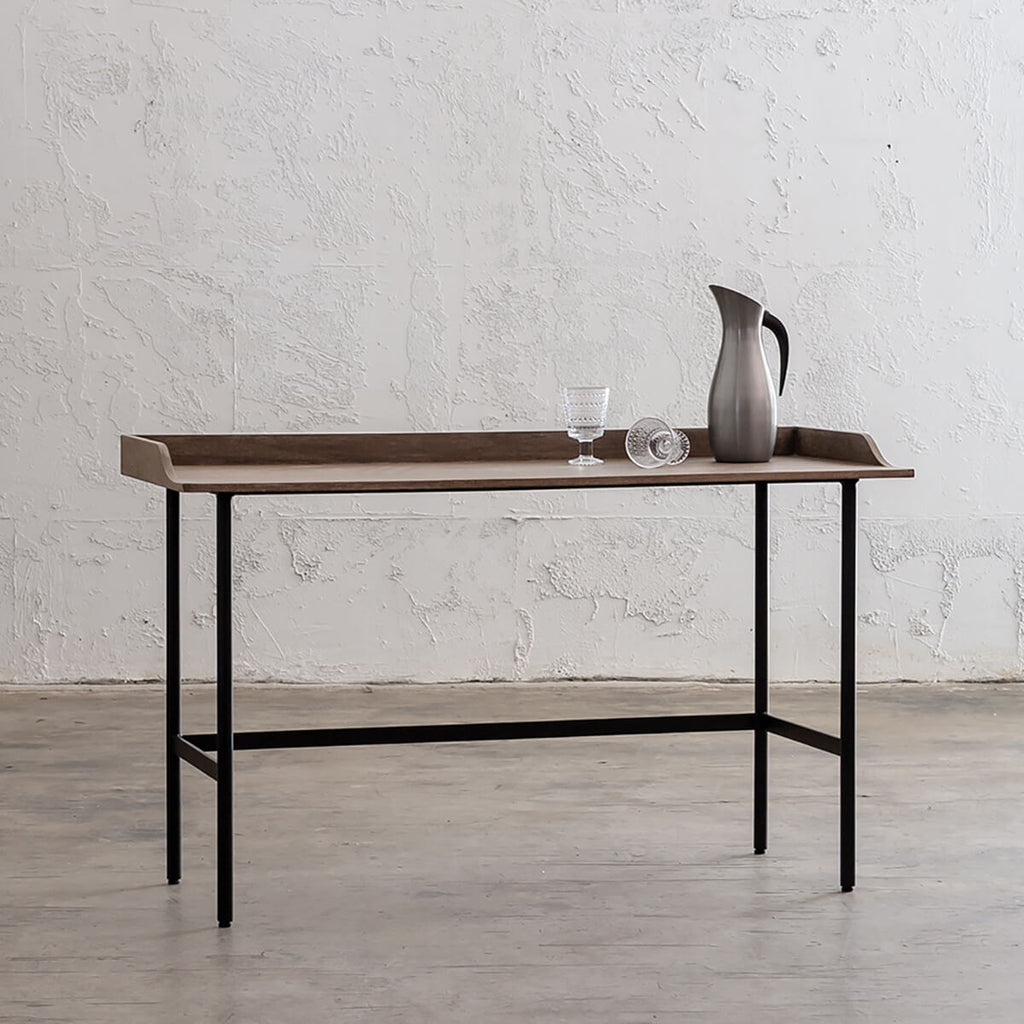 SAUVAGE LONDA OFFICE DESK  |  IVORY WASH TIMBER  |  WRITING DESK