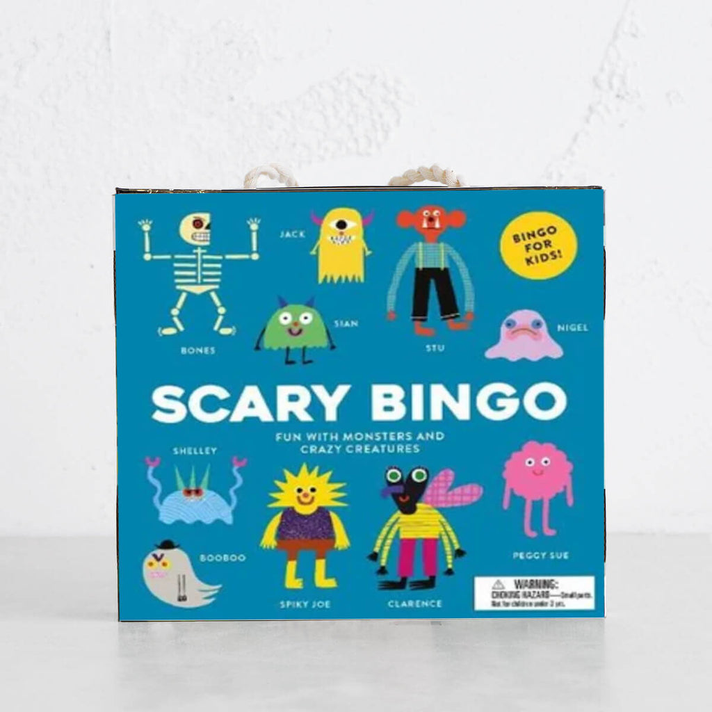 SCARY BINGO  |  FUN WITH MONSTERS AND CRAZY CREATURES. |  By Laurence King
