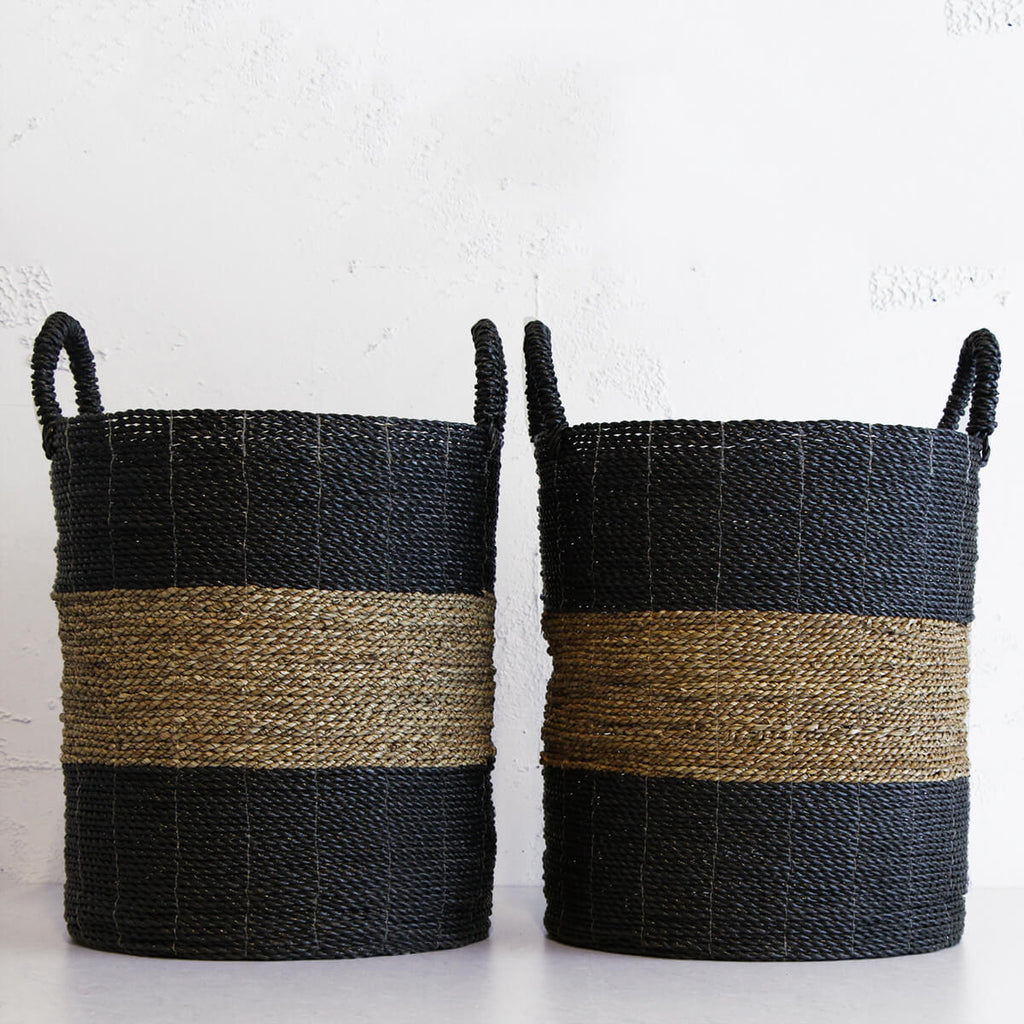 STORE YOUR BLANKETS  |  SEAGRASS BASKET  | STORAGE BASKET | TOY BASKET  |   PLANT HOLDER