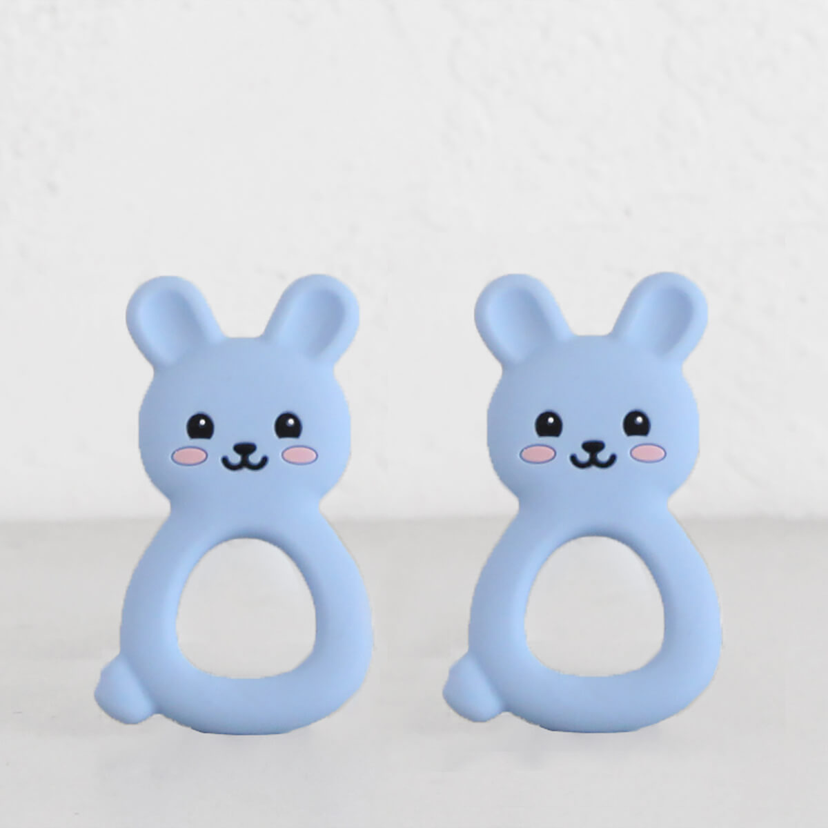 SILIMAMA BUNNY TEETHER | BLUE | BABY TOYS + TEETHERS