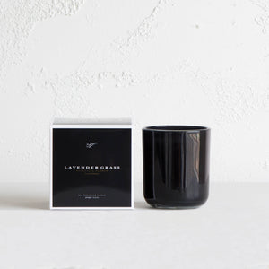 SOHUM ECO CEDARWICK CANDLE  |  GLASS FRAGRANCED CANDLE  |LAVENDER GRASS