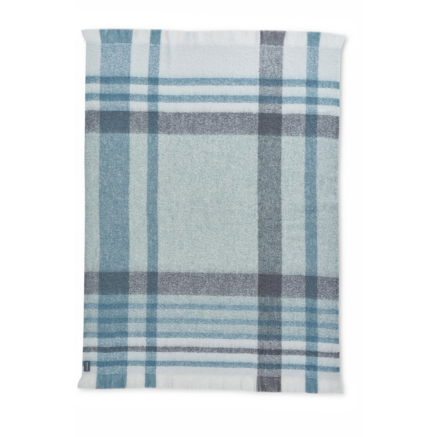 ST ALBANS MOHAIR THROW RUG  |  ELM