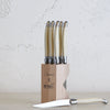LAGUIOLE ANDRE VERDIER CUTLERY RANGE | SERRATED KNIFE SET | IVORY