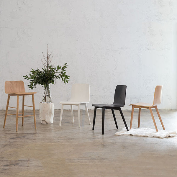 TAMIERA DINING CHAIR  |  BLACK GRAIN  | DANISH TAMI DESIGN