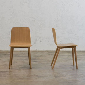 TAMI DINING CHAIR  |  NATURAL OAK
