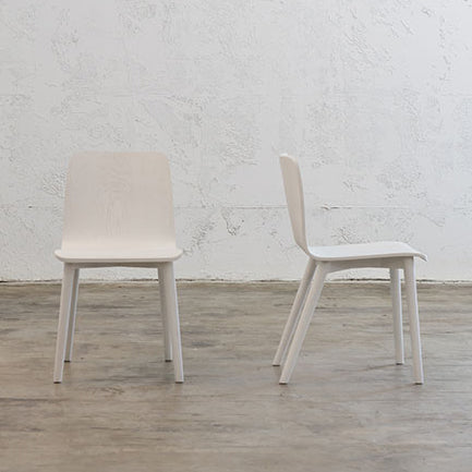 TAMI DINING CHAIR  |  WHITE GRAIN
