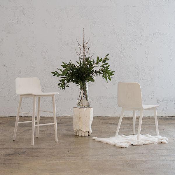 TAMIERA DINING CHAIR  |  WHITE GRAIN  |  DANISH TAMI DESIGN