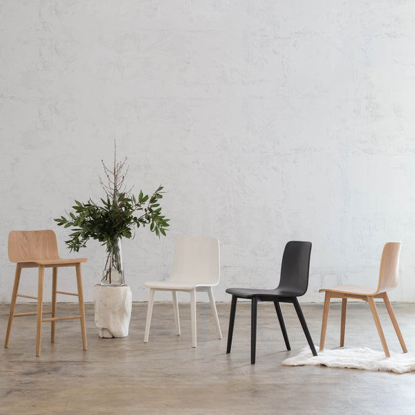 TAMIERA BAR CHAIR  |  WHITE GRAIN  |  DANISH TAMI DESIGN
