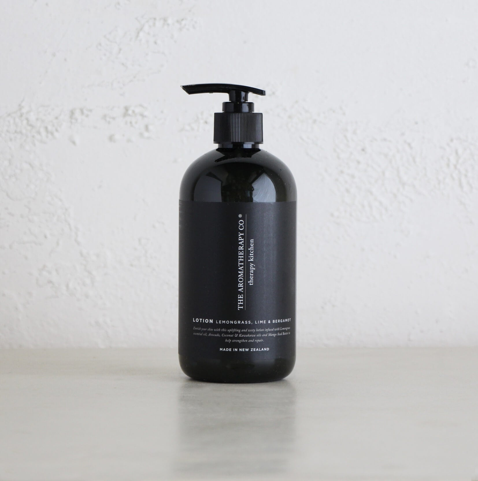 THERAPY KITCHEN HAND + BODY LOTION  |  LEMONGRASS, LIME & BERGAMOT | AROMATHERAPY CO NEW ZEALAND