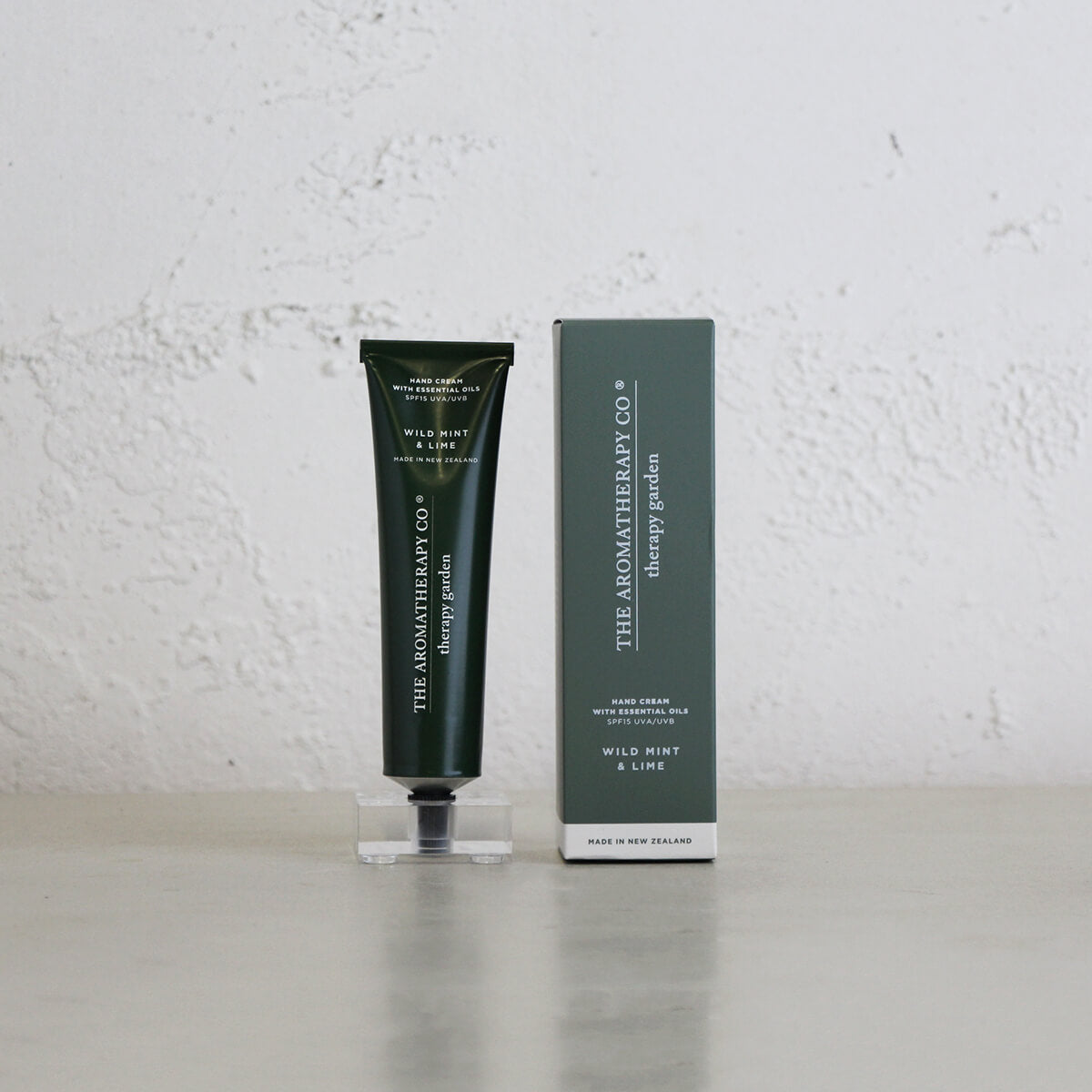 THERAPY GARDEN HAND CREAM  |  WILD MINT + LIME