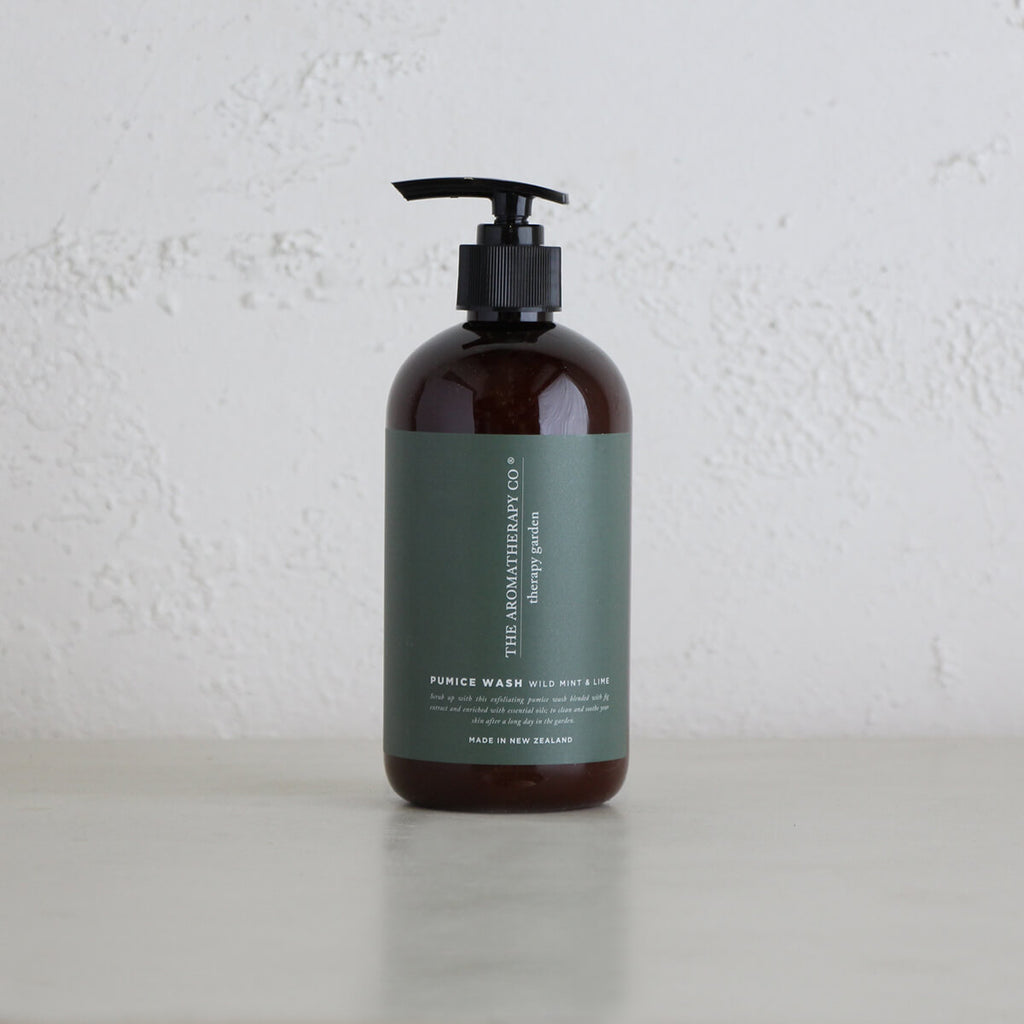 HERAPY GARDEN HAND + BODY LOTION | WILD MINT + LIME | THE AROMATHERAPY COMPANY NEW ZEALAND