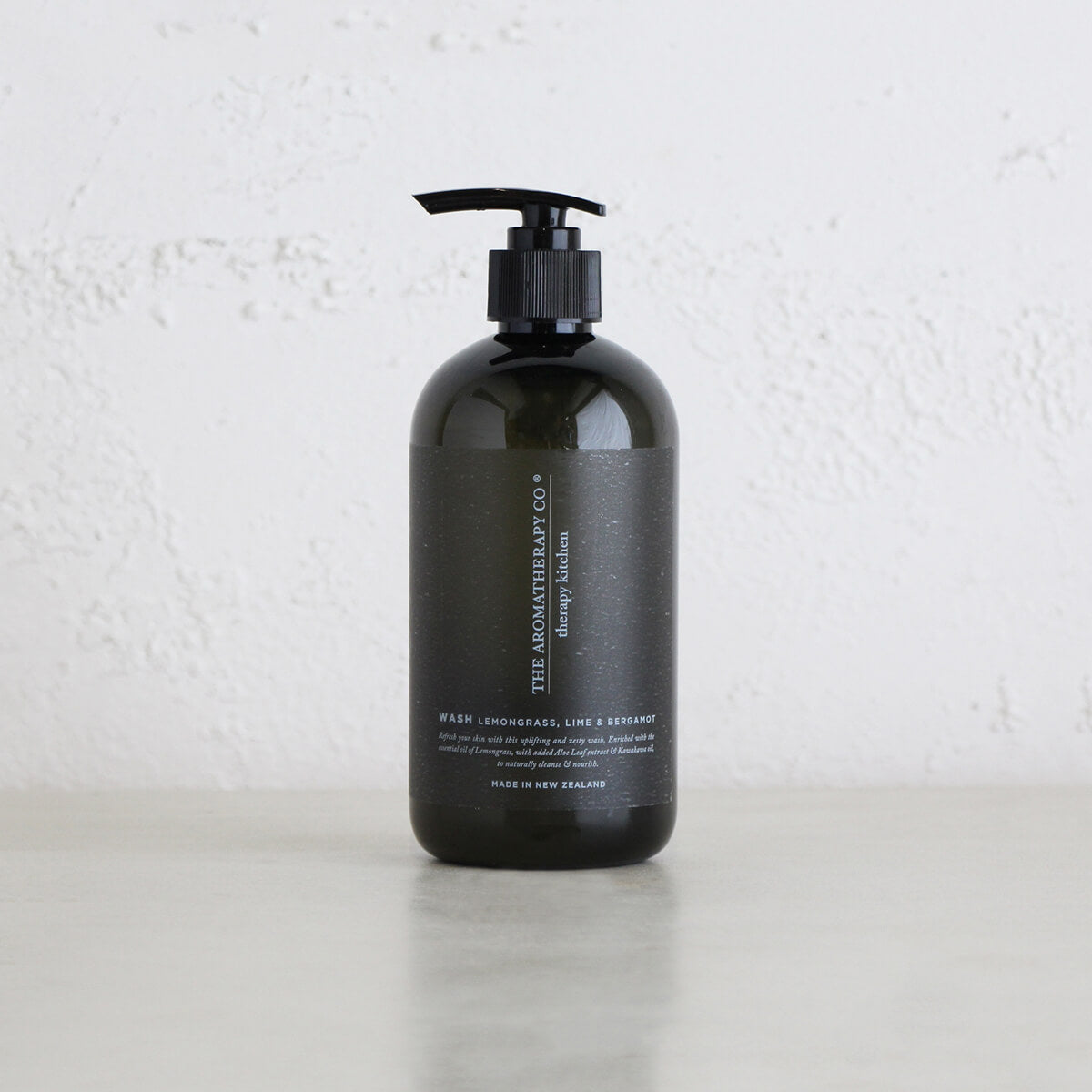 THERAPY KITCHEN HAND + BODY WASH   |  LEMONGRASS, LIME + BERGAMOT