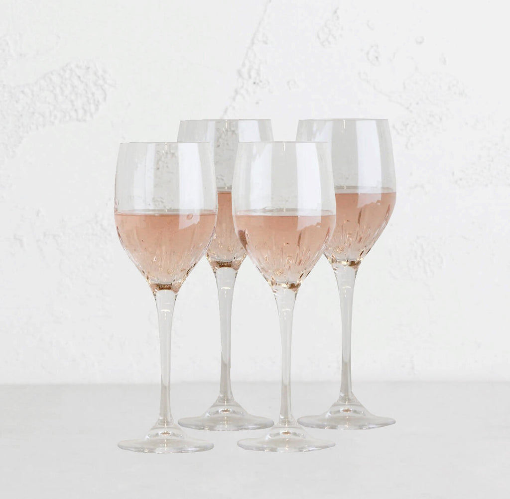WEDGEWOOD  |  VERA WANG DUCHESS  WINE GLASS  |  SET OF 4