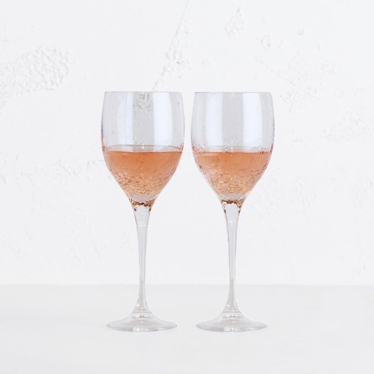 WEDGEWOOD  |  VERA WANG SEQUIN WINE GLASS  |  SET OF 2
