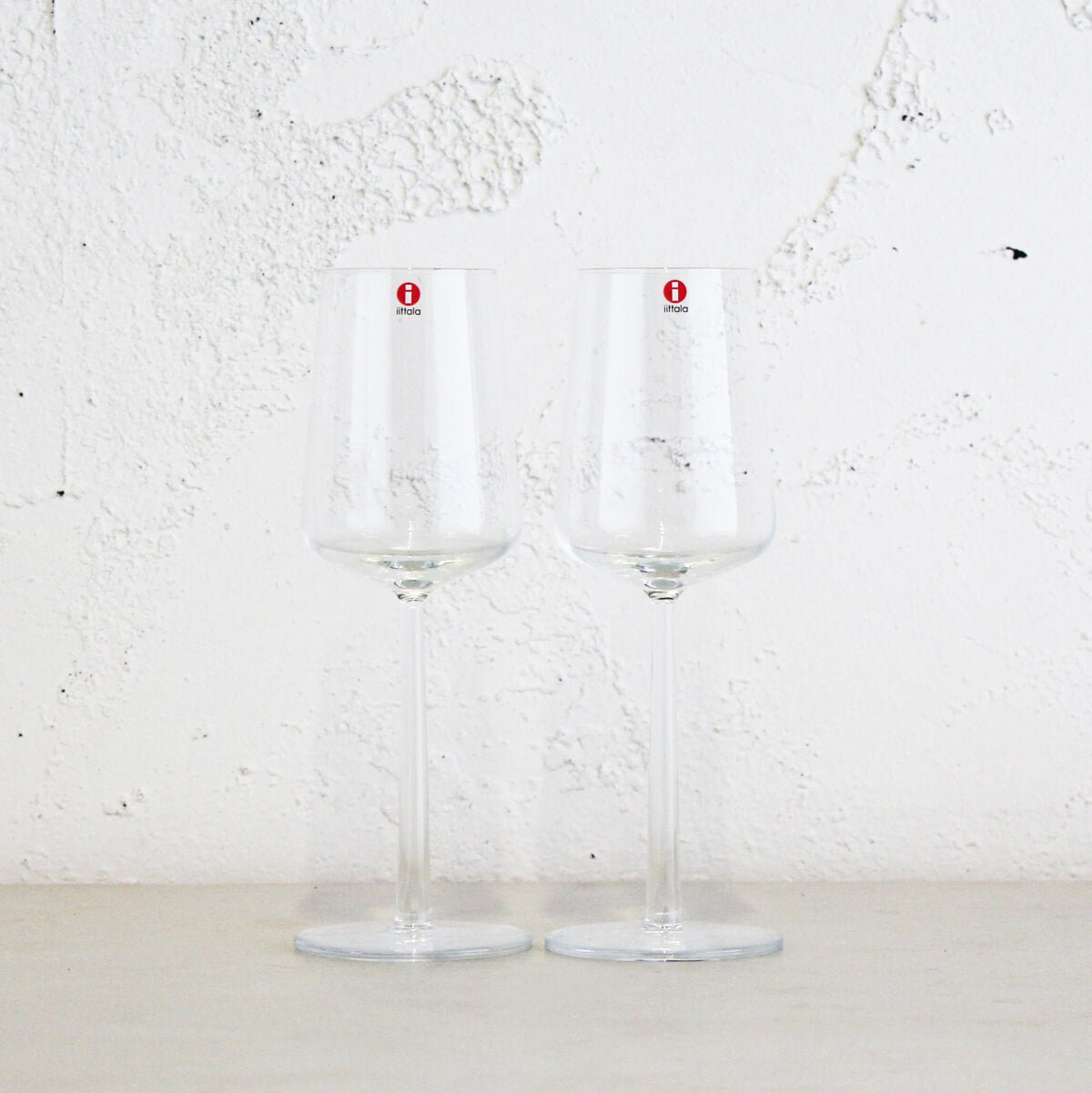 IITTALA  |  ESSENCE WHITE WINE GLASSES  |  SET OF 2