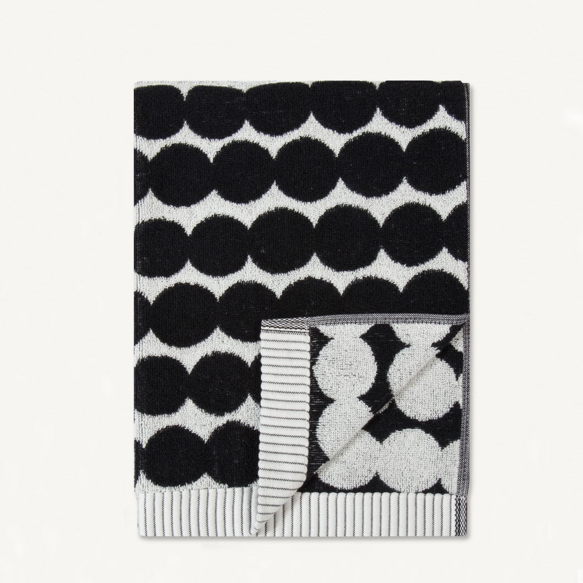 MARIMEKKO  |  RASYMATTO BATH BUNDLE DOUBLE  |  BLACK SPOT