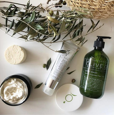 OLIVE OIL SKINCARE CO  |  NATURALLY NOURISHED HAND CREAM  |  125GM
