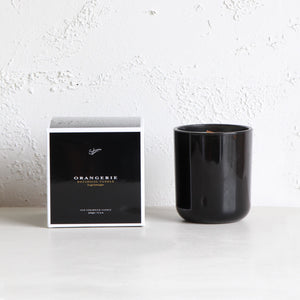 SOHUM ECO CEDARWICK CANDLE  |  GLASS FRAGRANCED CANDLE  | ORANGERIE