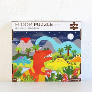 DINOSAUR KINGDOM PUZZLE  |  CHILDRENS GIFTS  |  JIGSAW GAME  |  EARLY LEARNING ACTIVITY