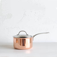 CHASSEUR COPPER COVERED SAUCEPAN  |  14CM  |  16CM  |  18CM