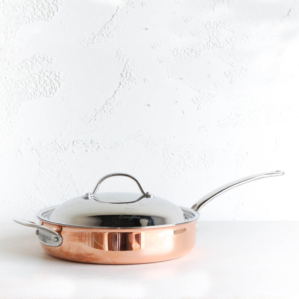 CHASSEUR COPPER COVERED SAUTE PAN  |  28CM