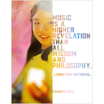 Camilla Choi Pianist Musician Fine Art Wall Posters