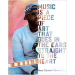 "Kerry ""2Smooth"" Marshall Jr. Guitarist Musician Fine Art Wall Poster"