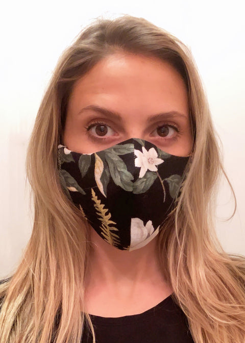 Printed Reversible Cotton Face Mask