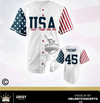 Trump USA 45 Baseball Jersey!!!