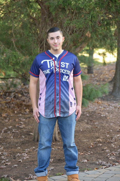 Trust The Process Baseball Jersey!!