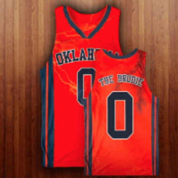 Oklahoma The Brodie Basketball Jersey!!!