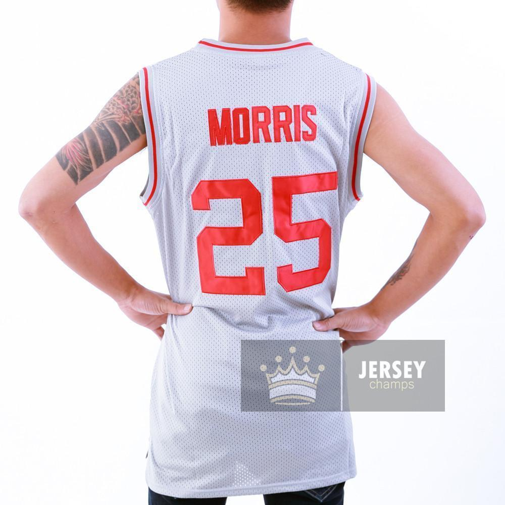 The Bell Zack Morris Bayside Tigers Basketball Jersey Stitched Gray - Jersey Champs
