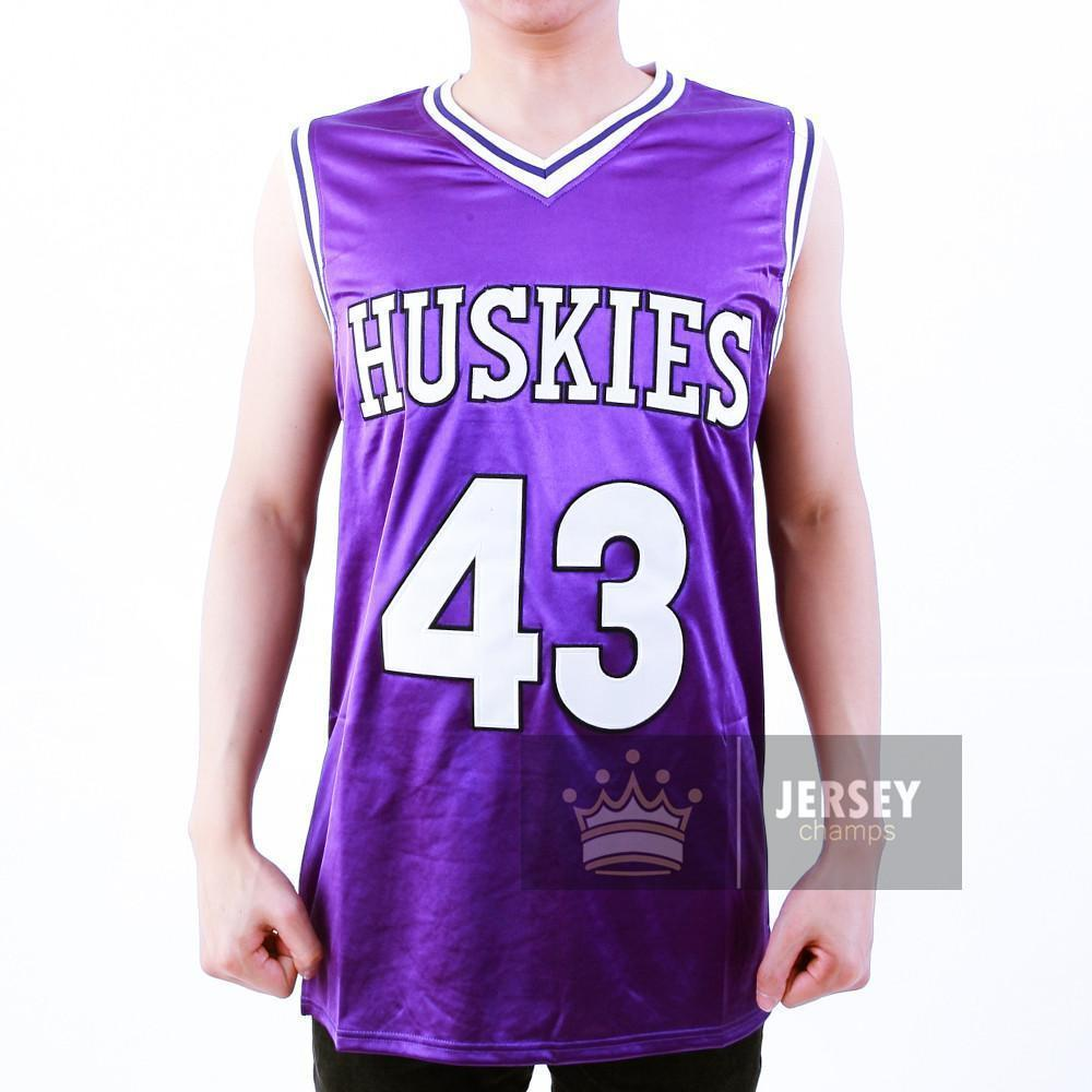Kenny Tyler 43 Huskies Basketball Jersey The 6th Man - Jersey Champs