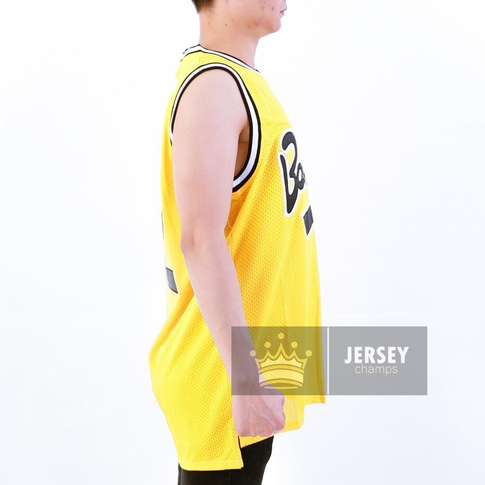 Bad Boy Small Jersey #72 Yellow - Jersey Champs