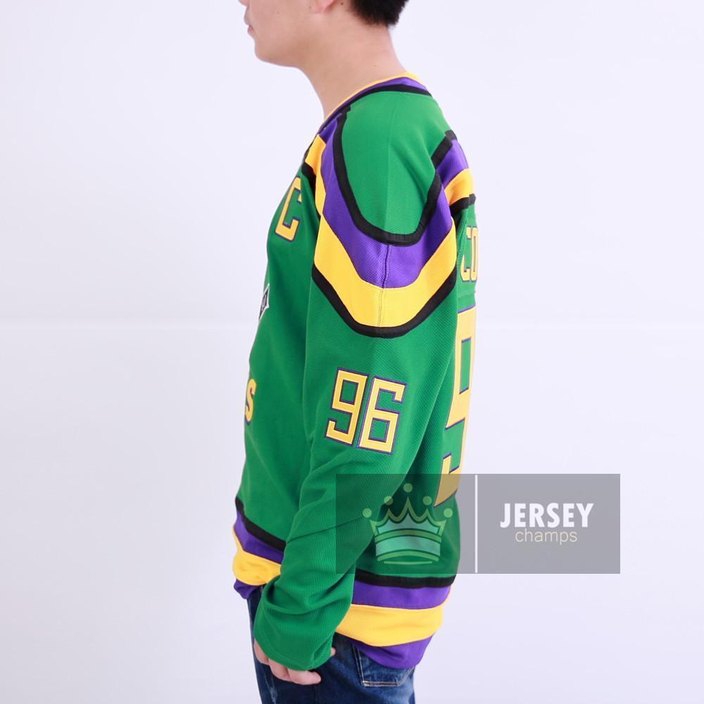 Charlie Conway The Mighty Ducks Hockey Jersey  96 - Jersey Champs 8e68f9854e3