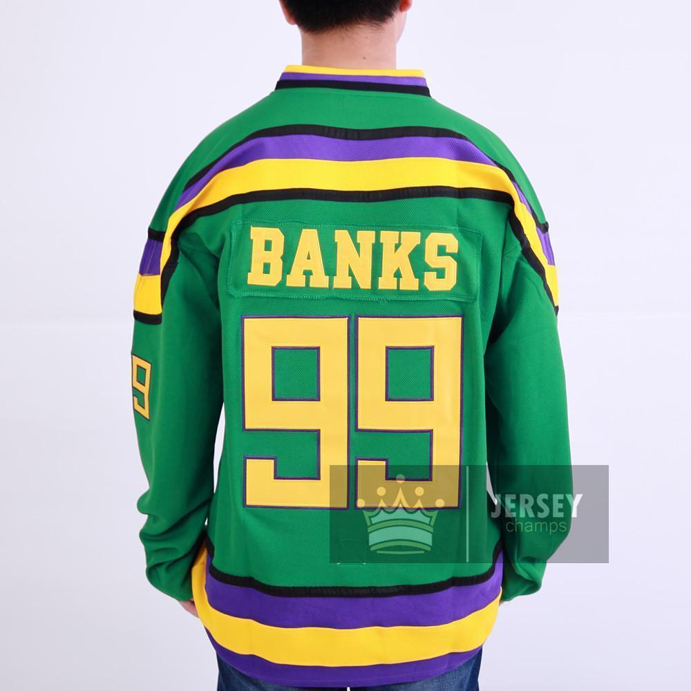 mighty ducks banks jersey