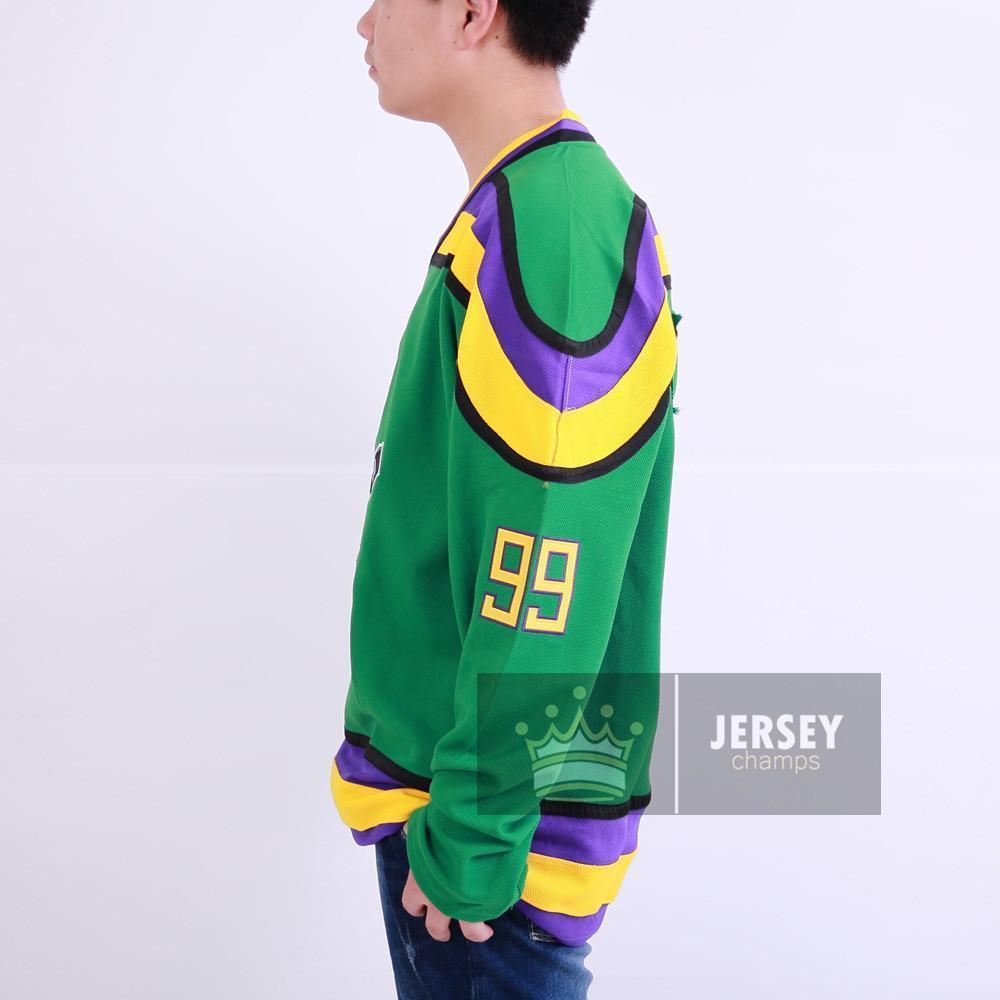 Banks 99 Mighty Ducks Ice Hockey Jersey - Jersey Champs