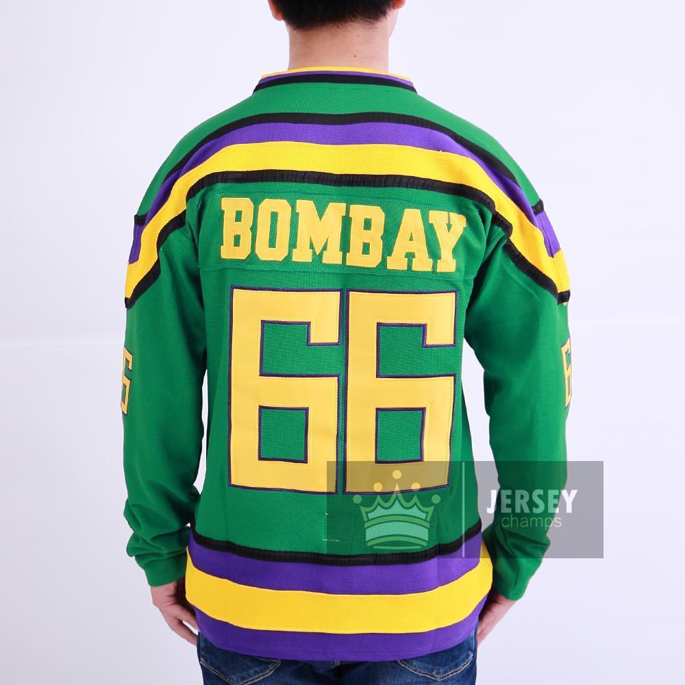 mighty ducks bombay jersey
