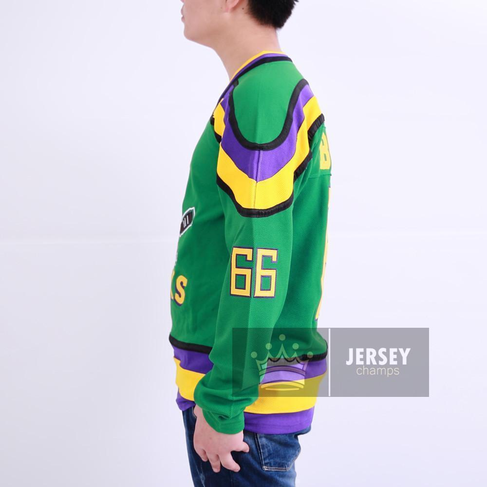 Gordon Bombay Mighty Ducks Ice Hockey Jersey - Jersey Champs