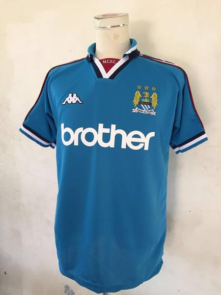 bae8be8781b 1997-99 Manchester city home Jersey - Jersey Champs - Custom Basketball
