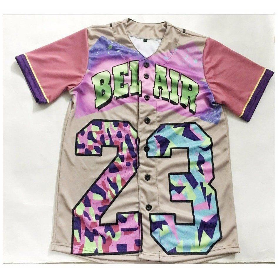Fresh Prince Of Bel Air Baseball Jersey - Jersey Champs