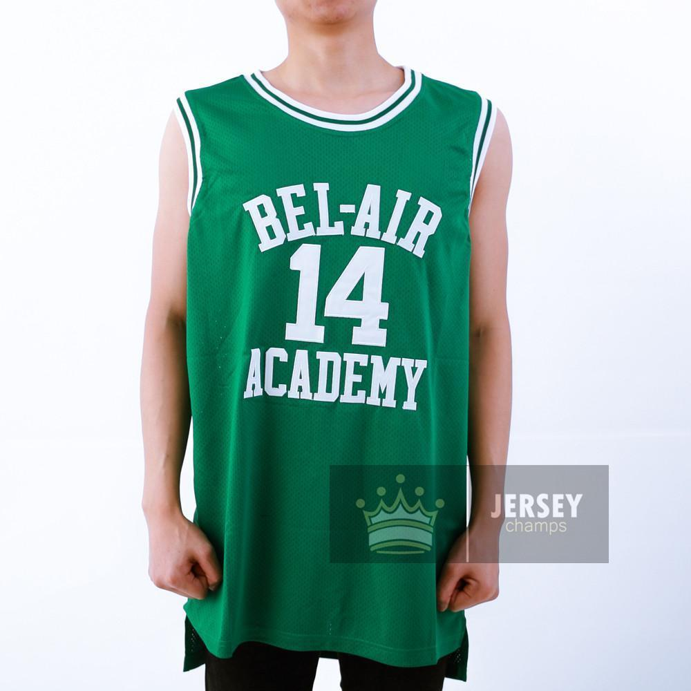 5752e93b2bae Will Smith 14 Bel Air Academy Basketball Jersey Stitched - Jersey Champs