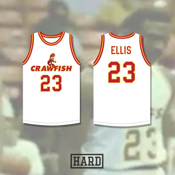 842effea3 Bentley Ellis 23 New Orleans Crawfish Basketball Jersey - Jersey Champs -  Custom Basketball